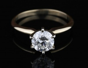 1.09Ct Diamond Engagement Ring