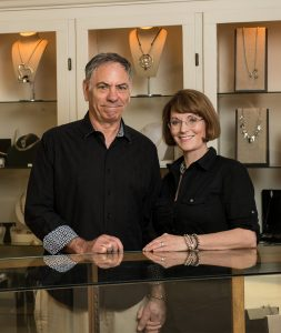Roger and Maddie Weinrech Owners of GFJ pre-owned jewelry