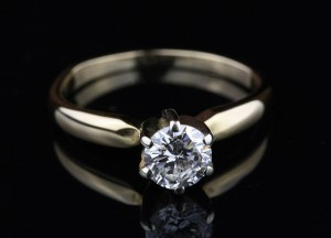 .55ct Diamond Engagement Ring