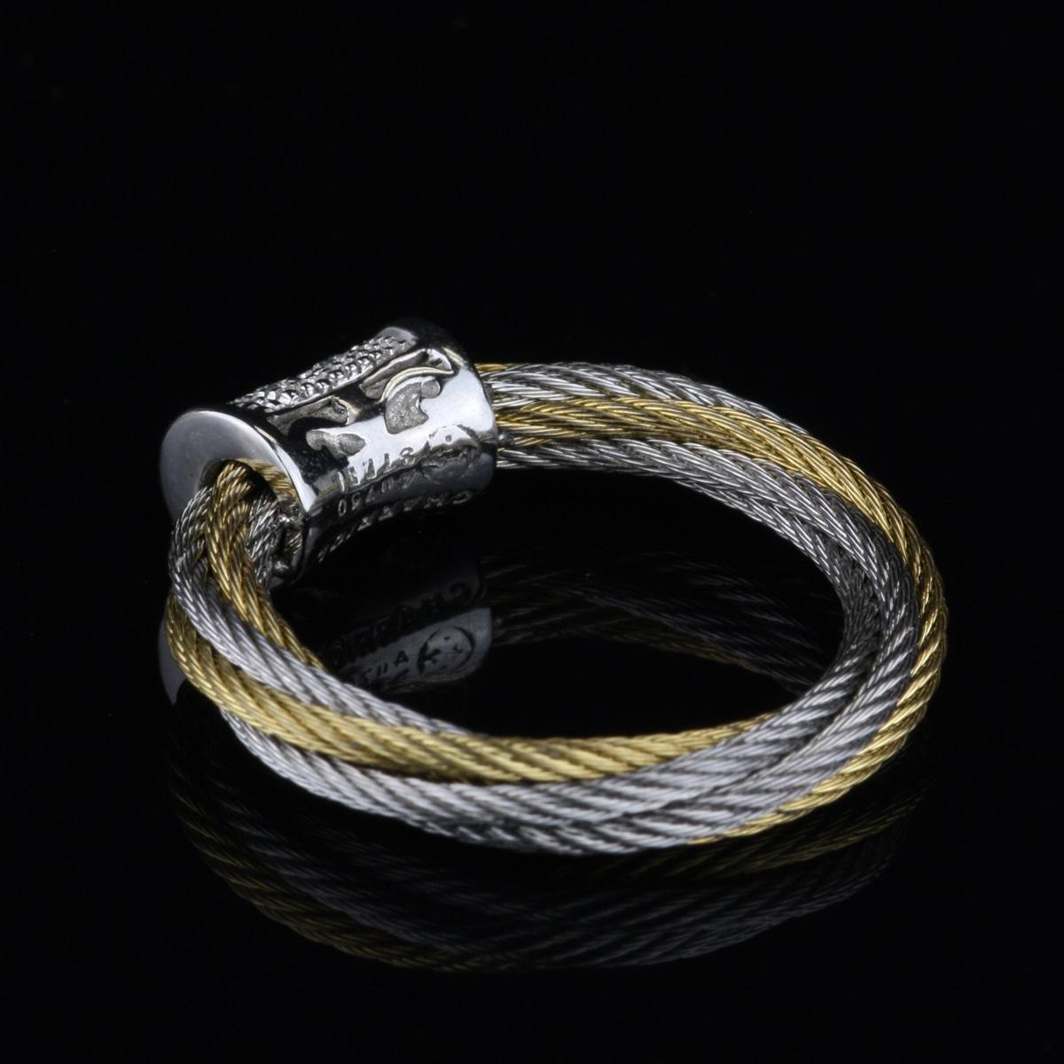 Pre-Owned Charriol 18 Karat White Gold Ring