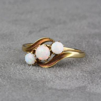 Vintage-By-Pass-Opal-Ring