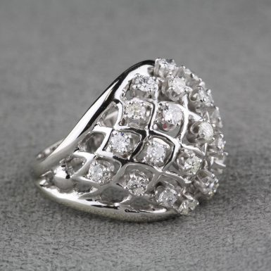 Pre-Owned-Diamond-Dome-Ring
