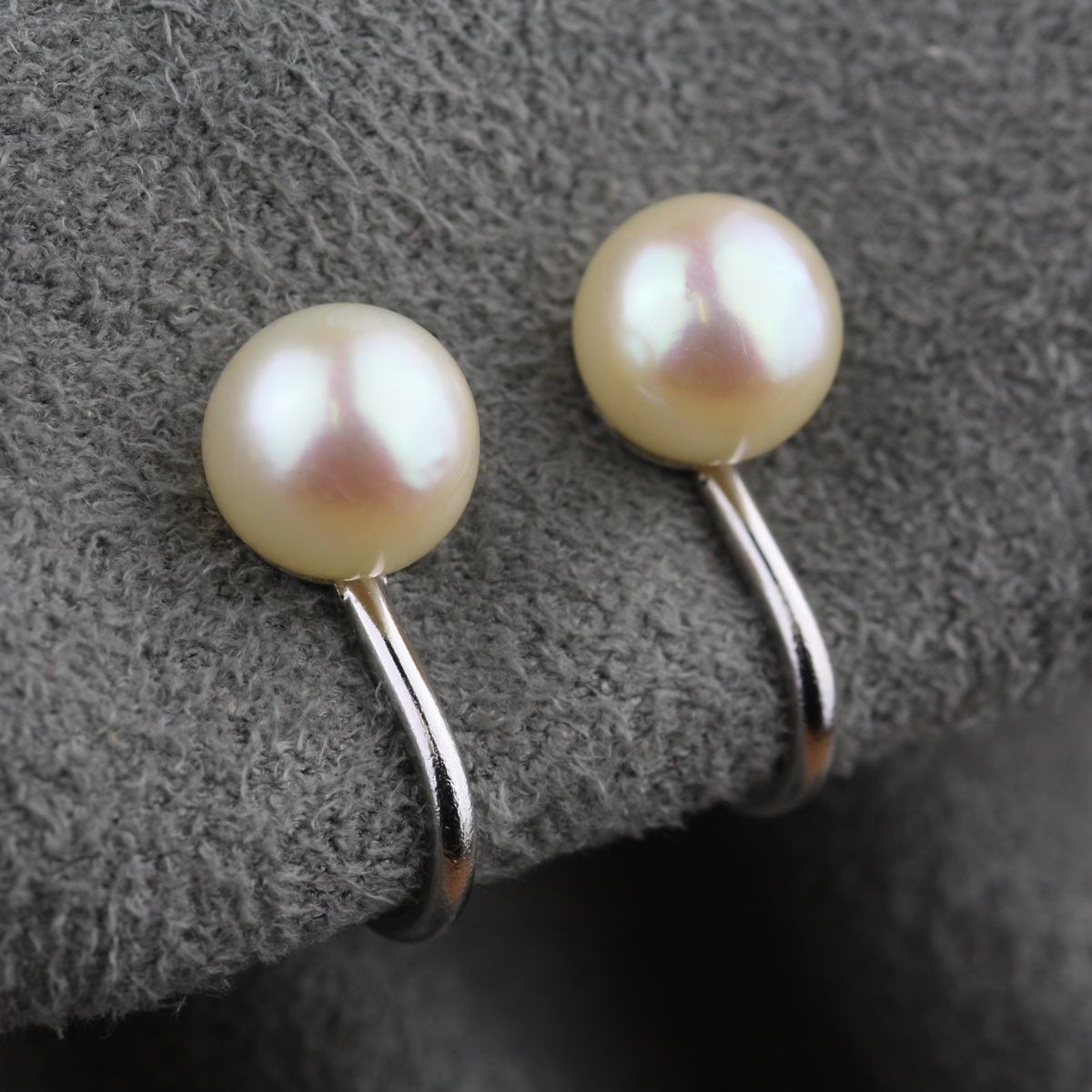 Vintage Stud Style Pearl Earrings