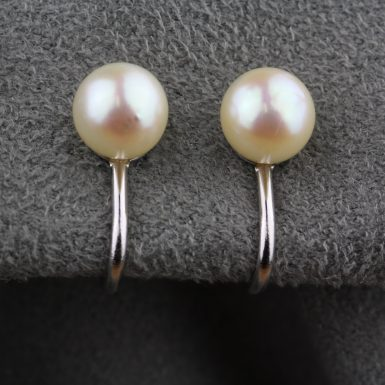 Vintage-Stud-Style-Pearl-Earrings