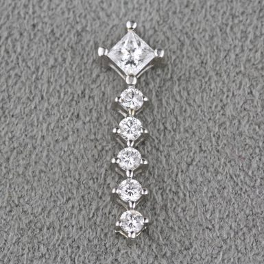 pre-owned-14k-white-gold-diamond-pendant