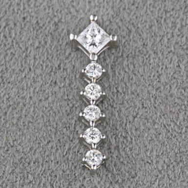 pre-owned-14k-white-gold-diamond-pendant