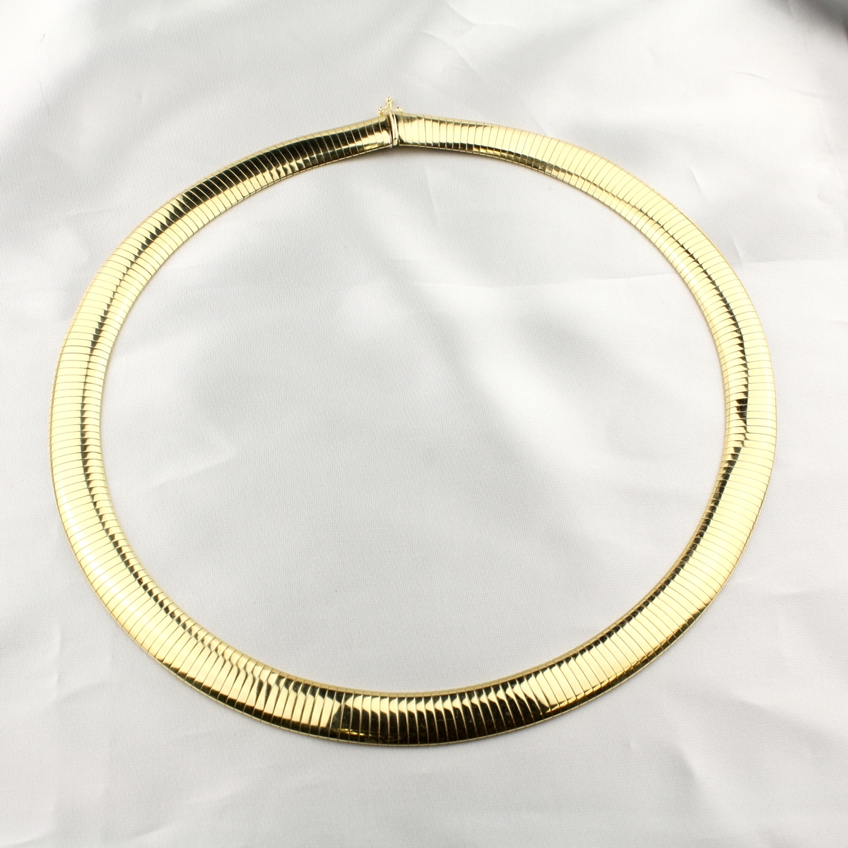 Pre Owned Gold Omega Necklace
