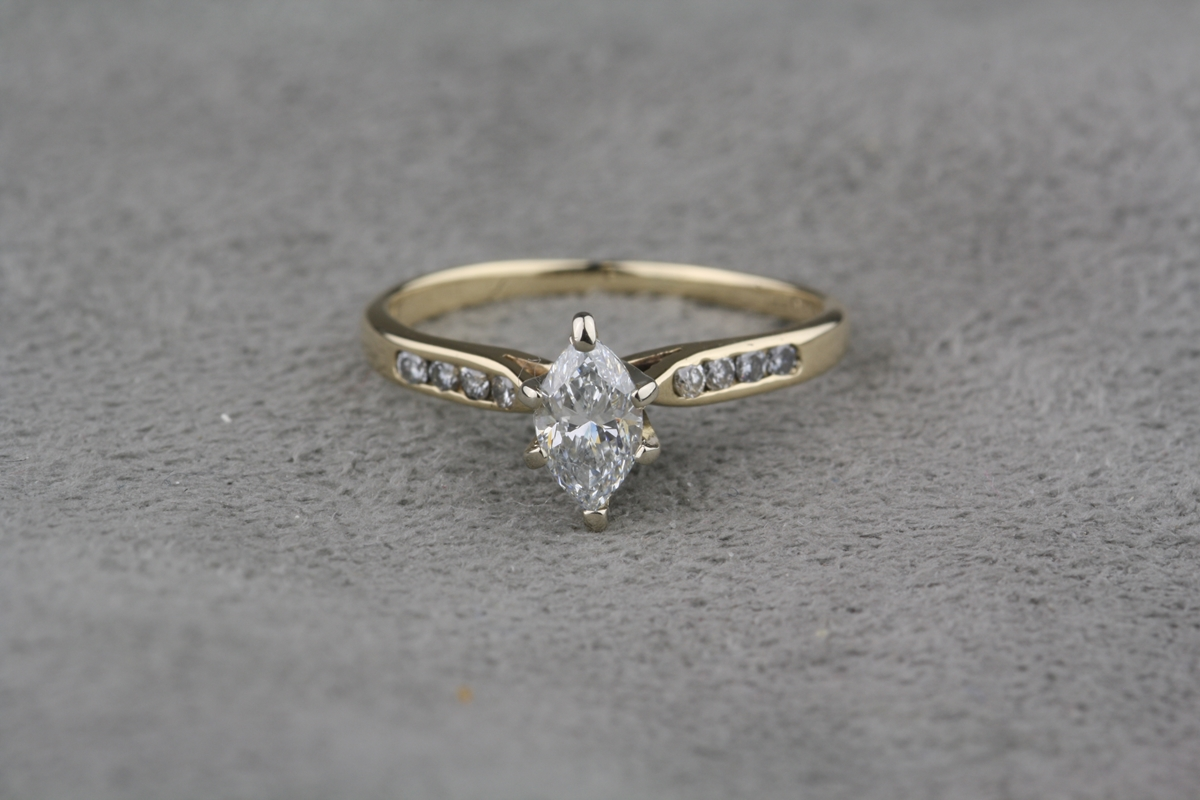 owned antique pre de n wedding ring jewellery diamond stone rings vintage image from
