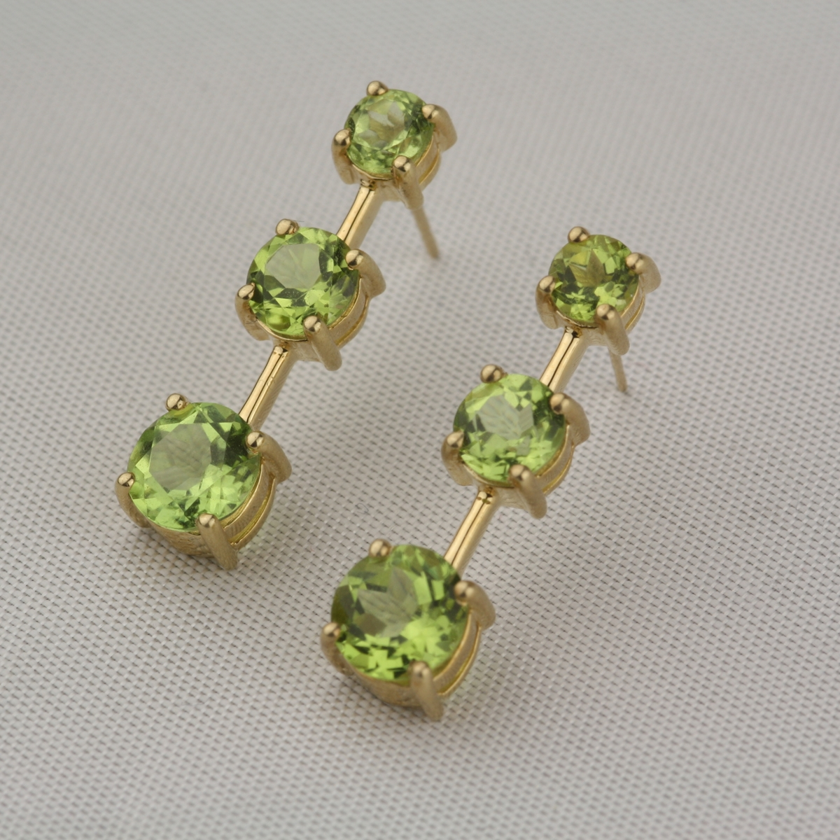 beadaholique retired edwardian peridot earrings