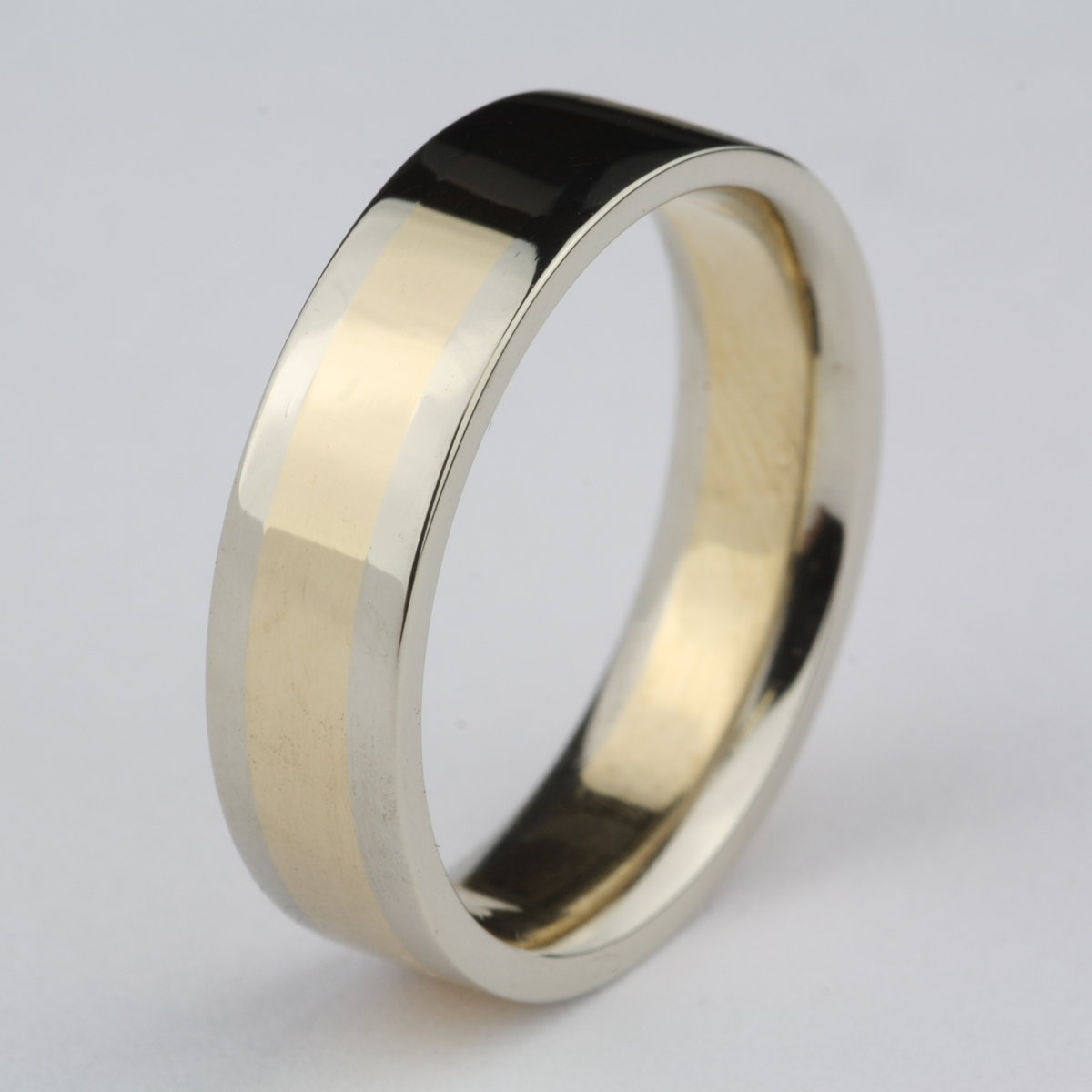 Pre Owned Two Tone Comfort Fit Band