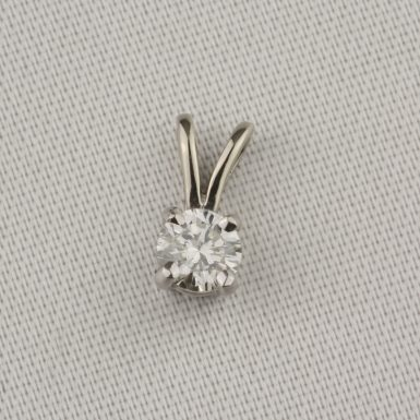 Pre-Owned-Diamond-Solitaire-Pendant