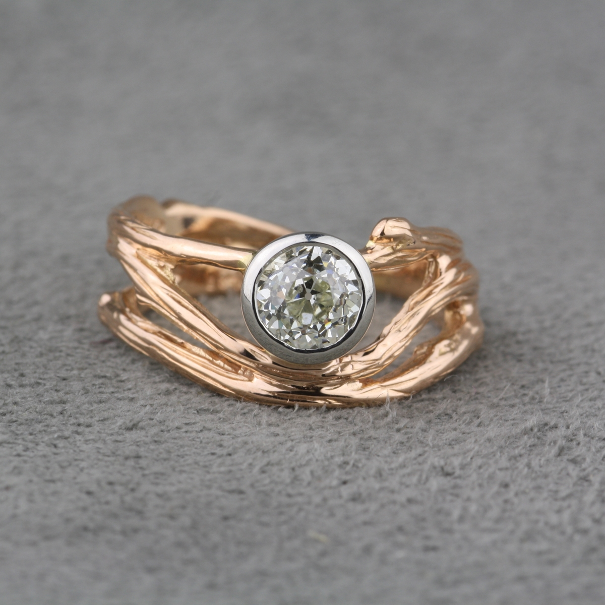 Pre owned Micky Roof Designer Diamond RingPre owned Micky Roof Designer Diamond Ring. Previously Owned Wedding Rings. Home Design Ideas