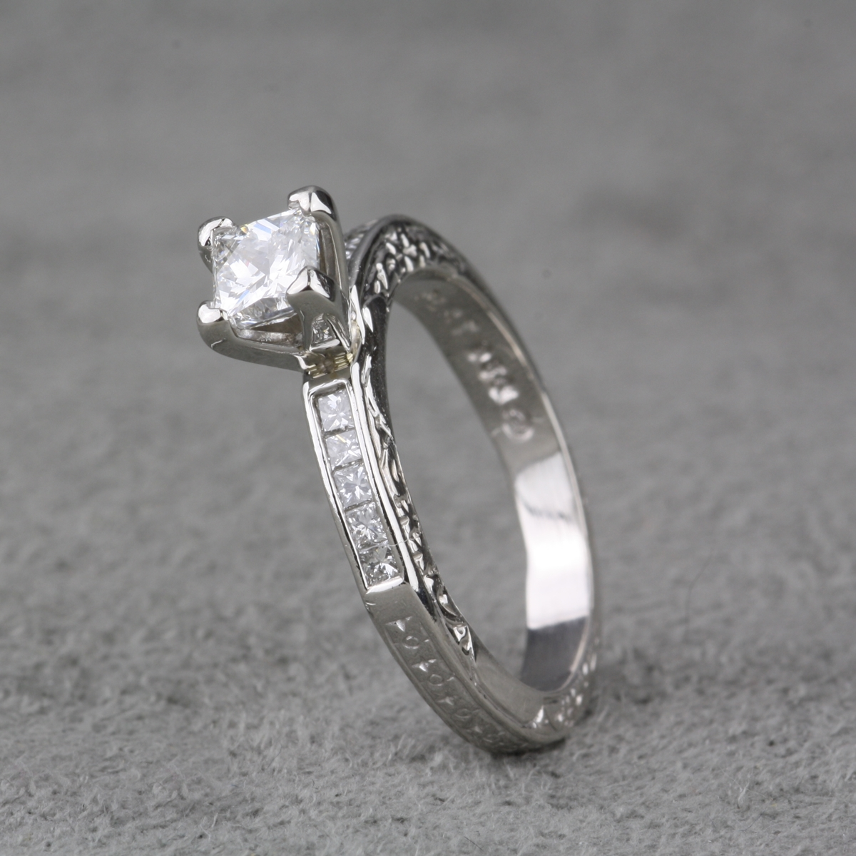 diamond ring rings stone leo engagement