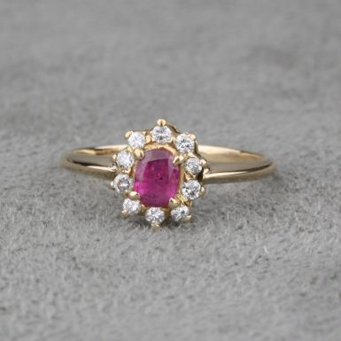 Pre-Owned-Ruby-and-Diamond-Ring