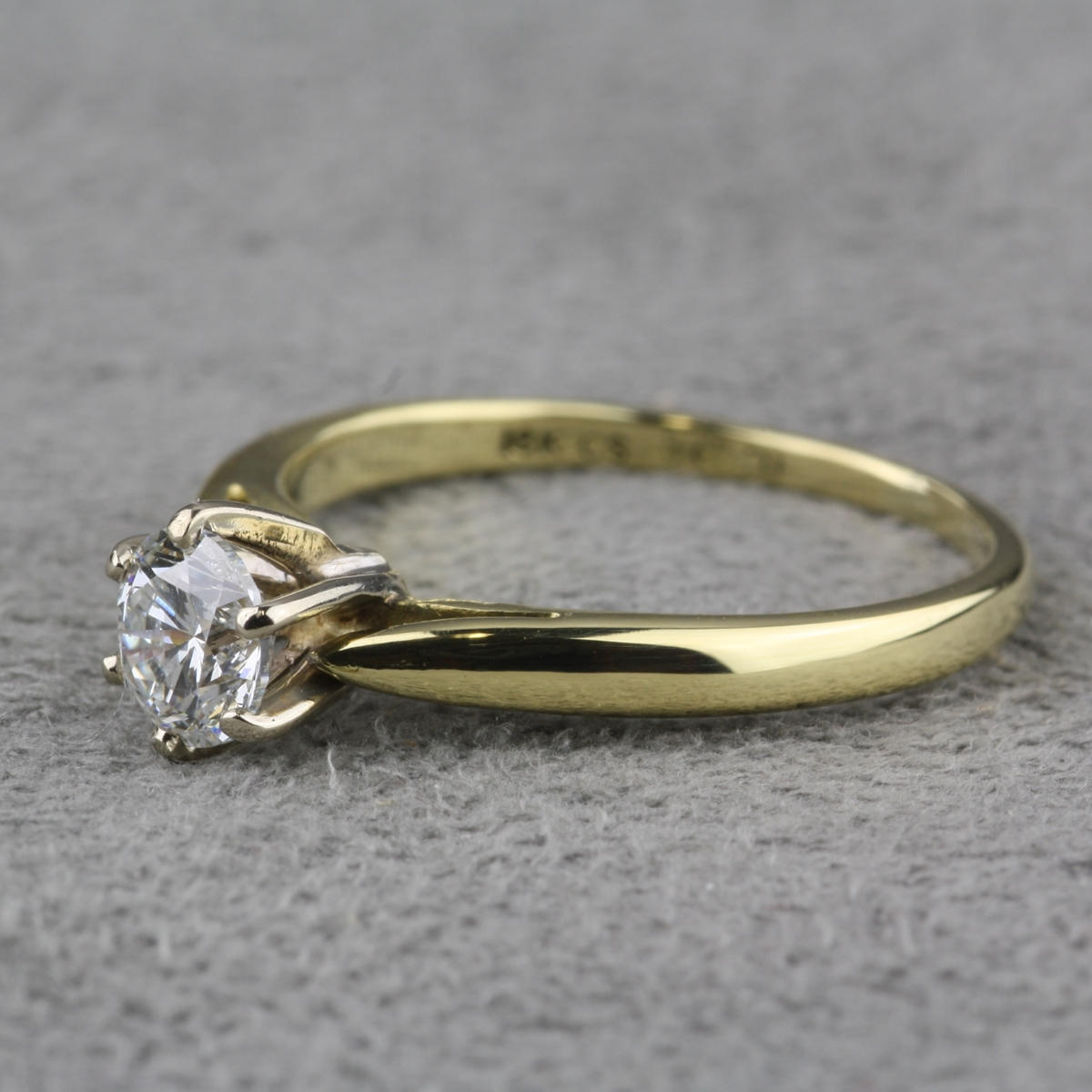 Pre Owned Diamond Solitaire Ring