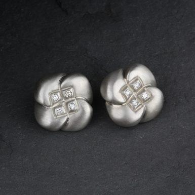 Pre-Owned-Diamond-Earrings