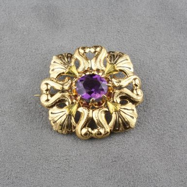 antique-6-carat-amethyst-brooch