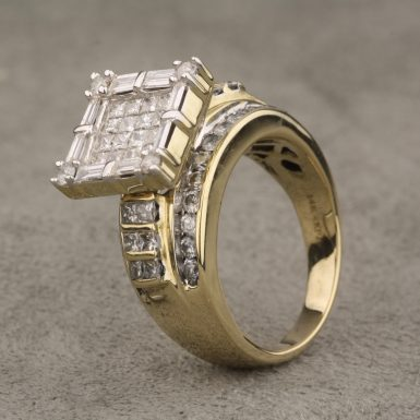 Pre-Owned-Contemporary-Diamond-Ring