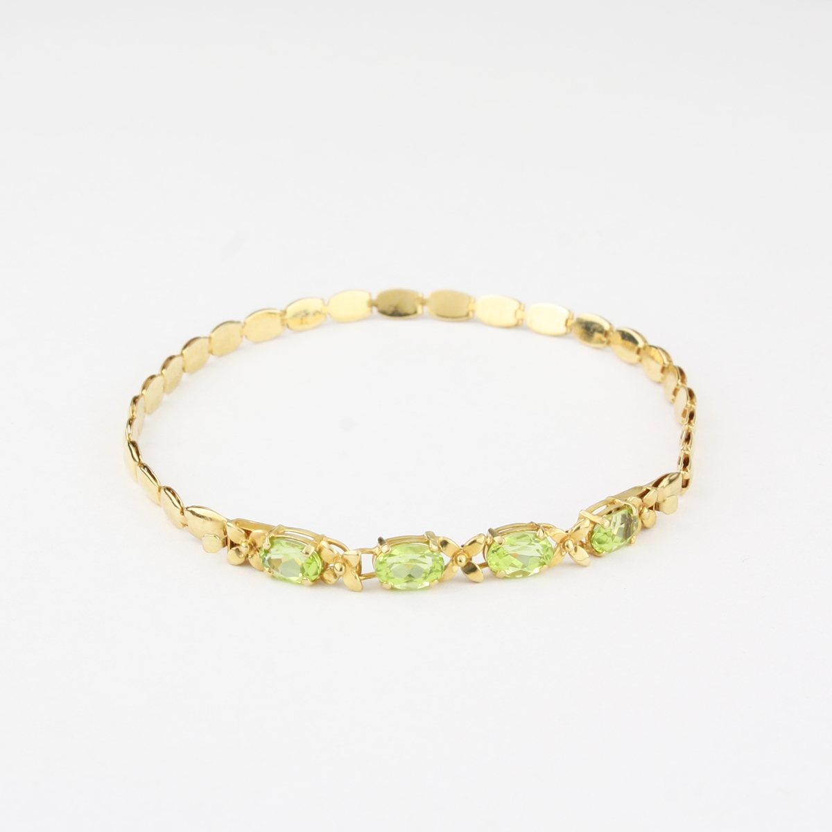Pre Owned 14 Karat Yellow Gold Colored Gemstones