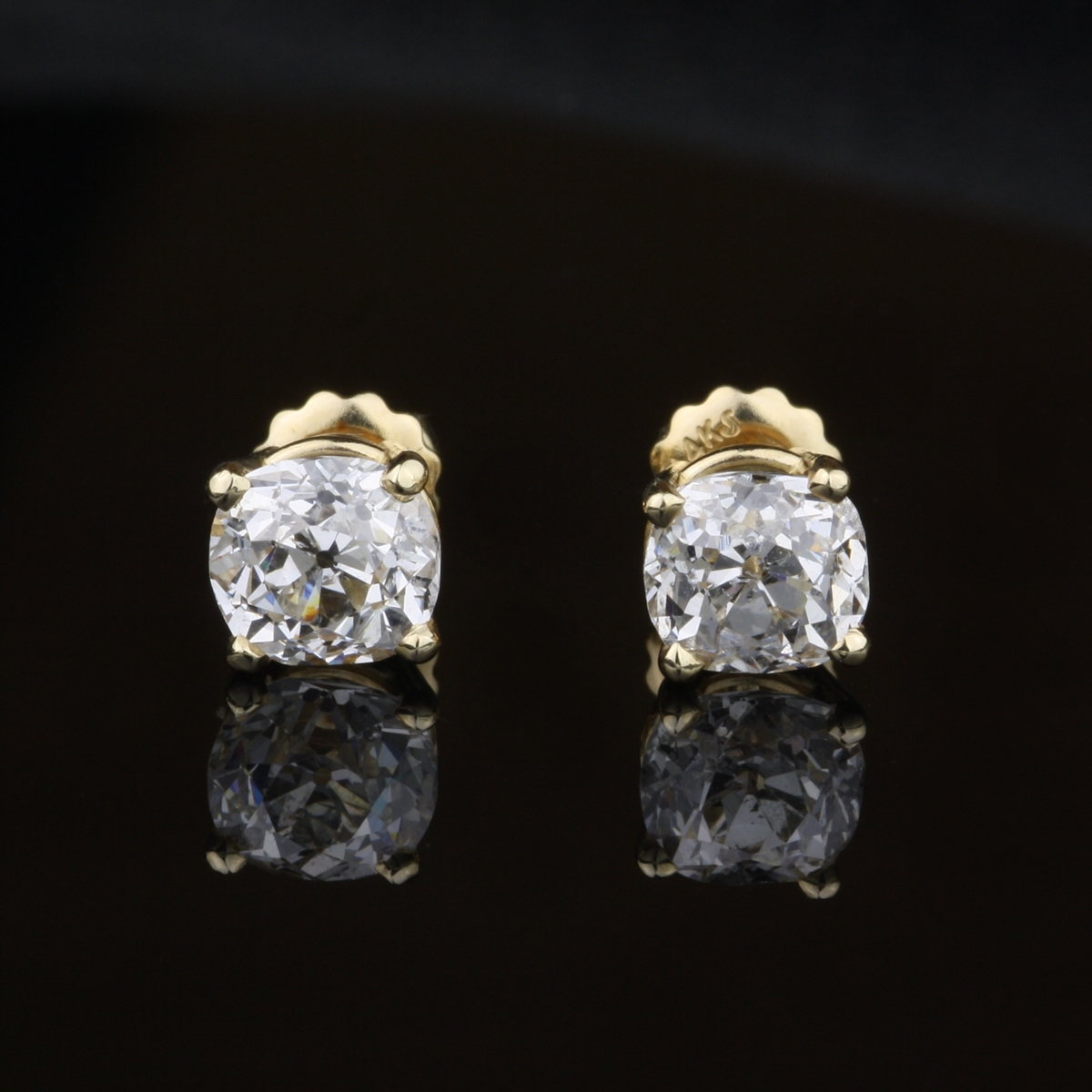 Carat Diamond Earrings Stud