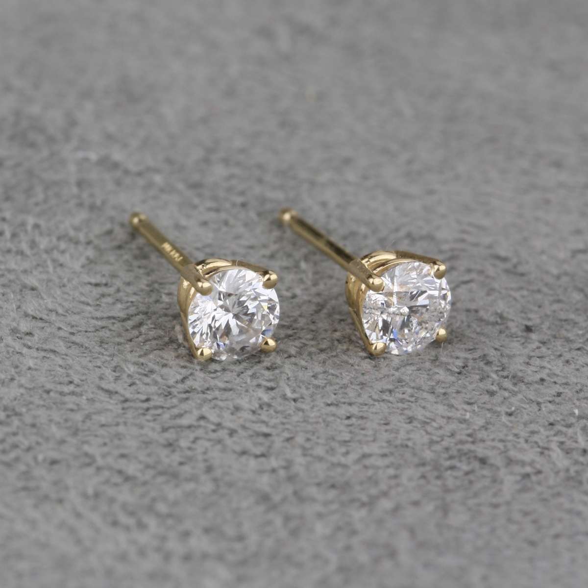 lab jewelry earrings the golden drop carat image hanging en