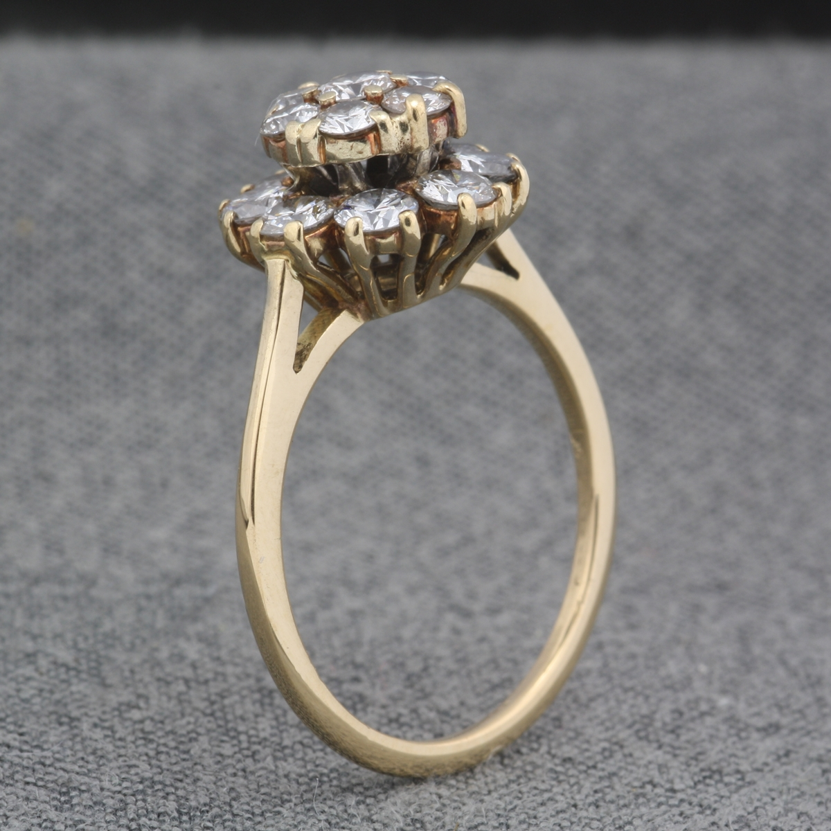 diamond ring eragem rings vintage owned pre wedding antique engagement carat