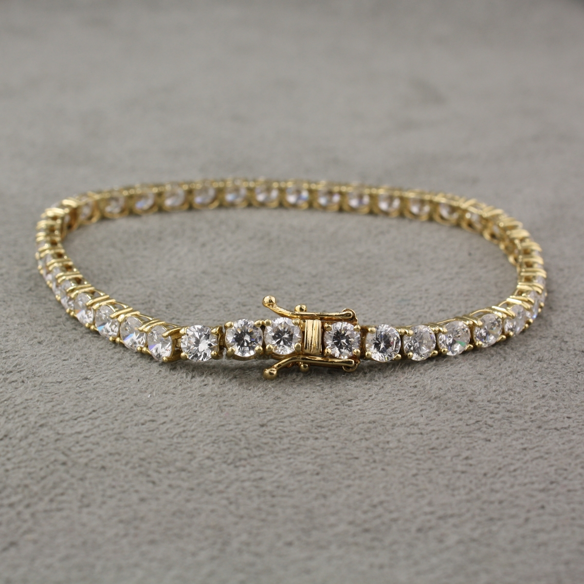 bracelet and full bracelets white size jewellers zirconia ie cubic fields gold