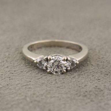 Pre-Owned Diamond Three-Stone Ring
