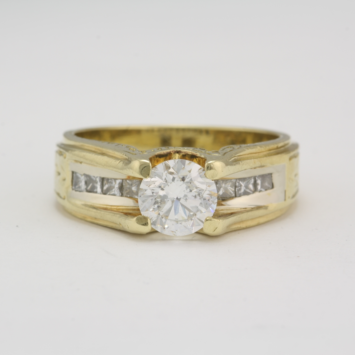 vintage ring cartier gold pre rings owned wedding image in white diamond