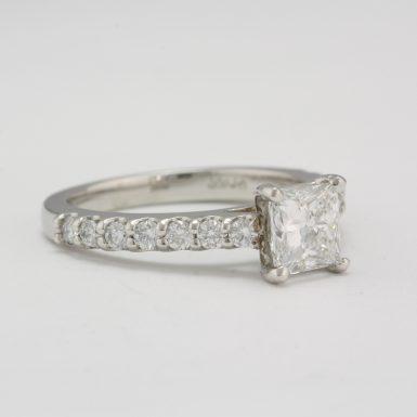 Pre-Owned Platinum Diamond Engagement Ring