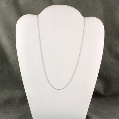 pre-owned-14-karat-white-gold-fine-rope-chain