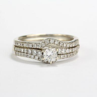 pre-owned-diamond-wedding-set