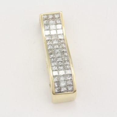 pre-owned-14-karat-yellow-gold-diamond-pendant