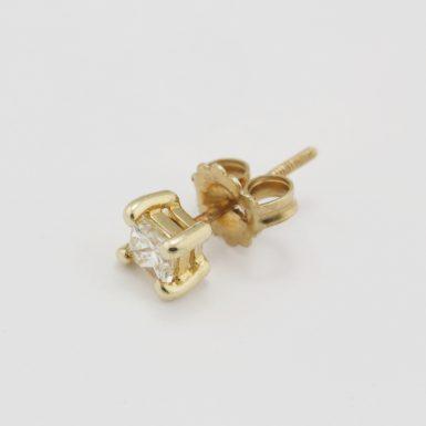 Pre-Owned Single Diamond Stud Earring