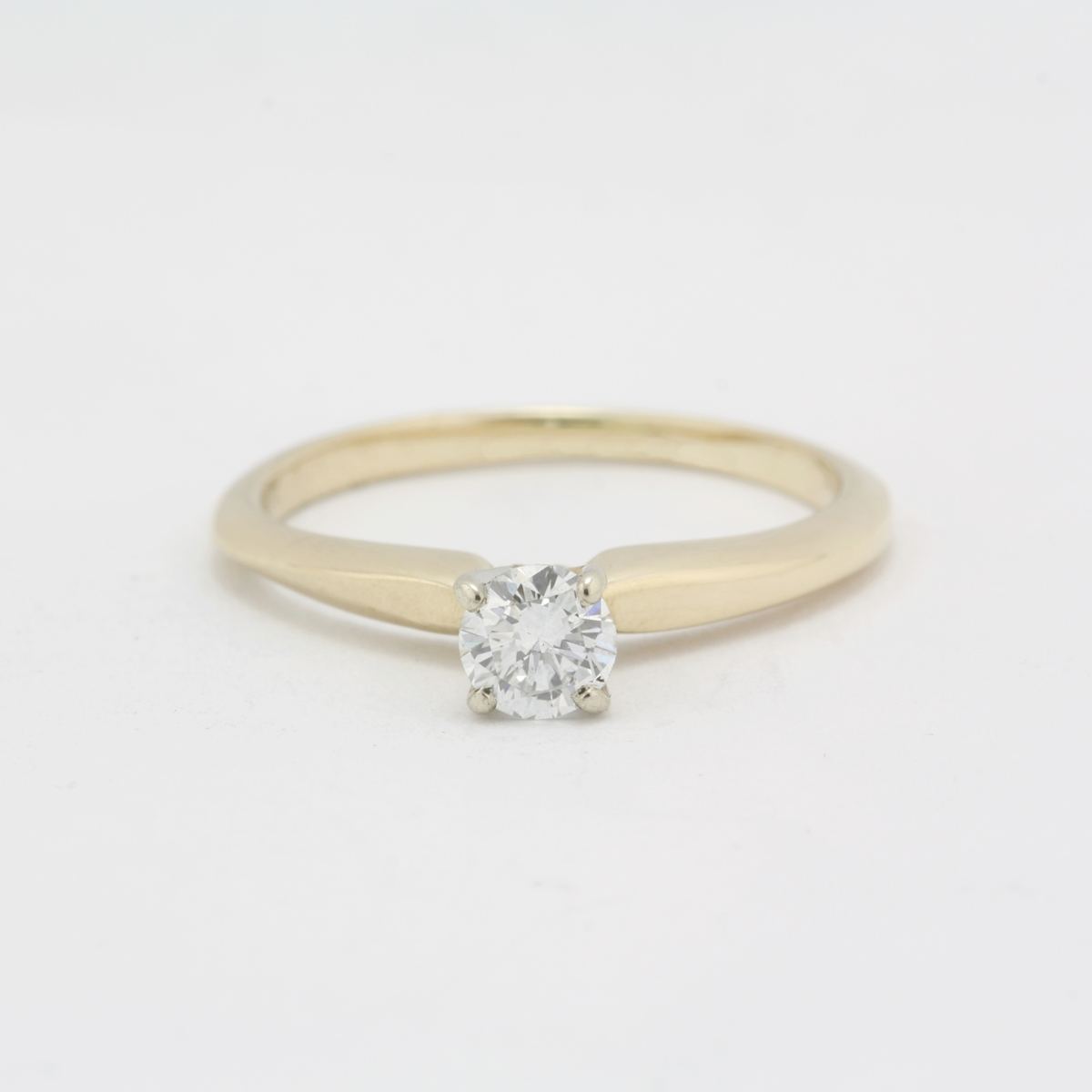 Preowned Wedding Rings: Pre-Owned Diamond Engagement Ring
