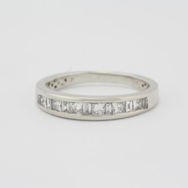 Pre-Owned Platinum & Diamond Wedding Band