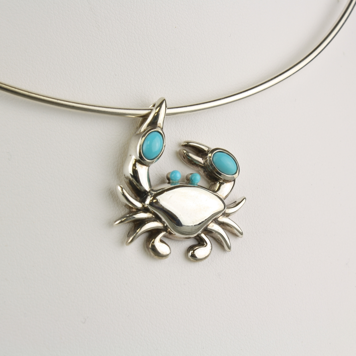 Pre owned tiffany crab necklace aloadofball Images