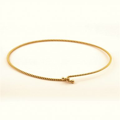 Pre-owned 14k Tiffany & Co. Twisted Collar