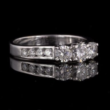 Pre-owned 18k White Gold Diamond Ring