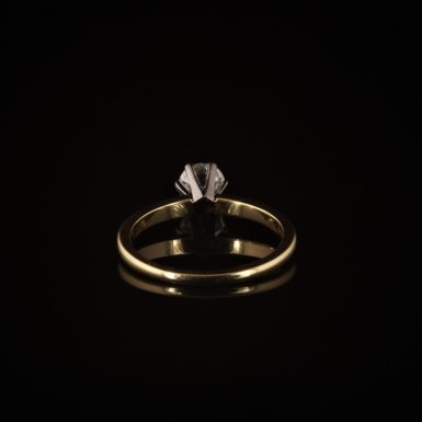 Pre-owned 14k Yellow Gold Diamond Engagement Ring