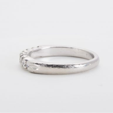 Pre-owned Platinum Diamond Wedding Band