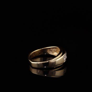 Pre-Owned 14K Men's Diamond Wedding Band