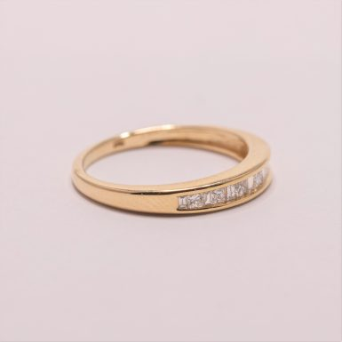 Pre-Owned-14k Diamond Band