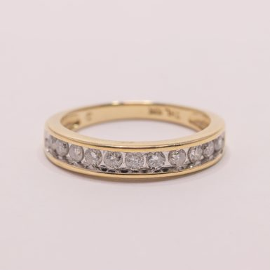 Pre-Owned 10k Diamond Band