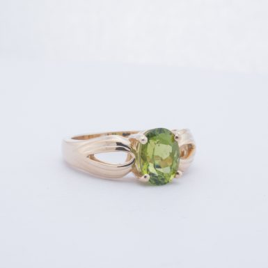 Pre-Owned 14K Peridot Ring