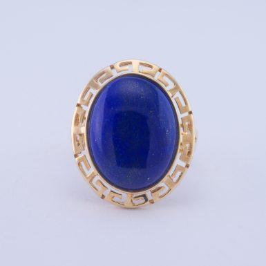 Pre-Owned 14K Lapis Ring