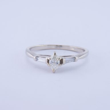 Pre-Owned 14k VS Marquise Diamond Ring