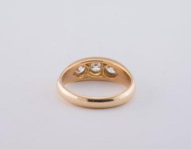 Vintage 14k Old European Cut Diamond Ring