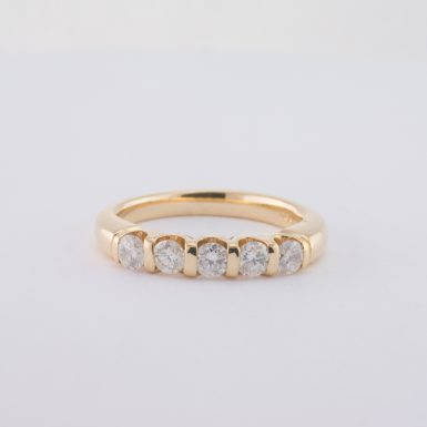 Pre-Owned 14K .50 Carat Diamond Wedding Anniversary Band