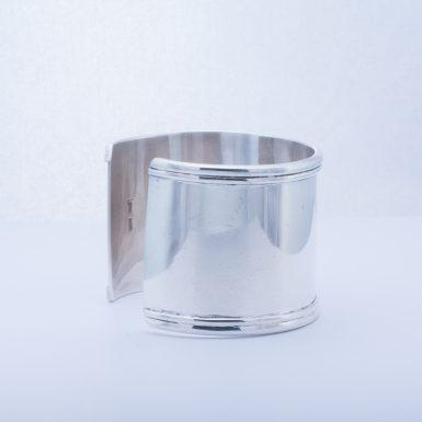 Pre-Owned Designer Sterling Silver Wide Cuff Bracelet